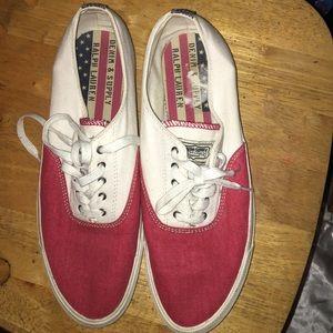 Polo Ralph Lauren canvas sneakers